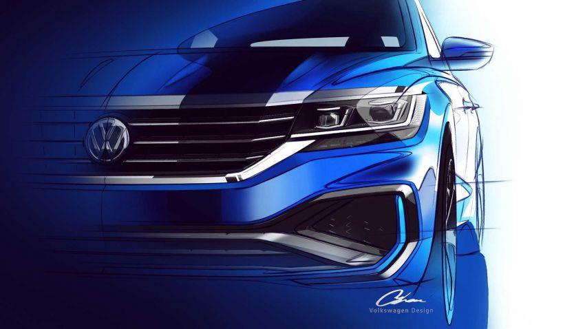 2020 Volkswagen Passat: US model teased, Jan reveal Image #902037