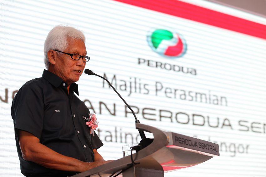 Perodua umum pelantikan Zainal Abidin Ahmad sebagai CEO baharu bagi menggantikan Aminar Image #901981