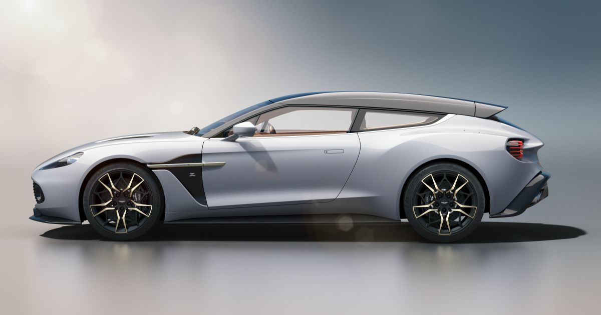 Aston Martin Vanquish Zagato Shooting Brake – new pics ...
