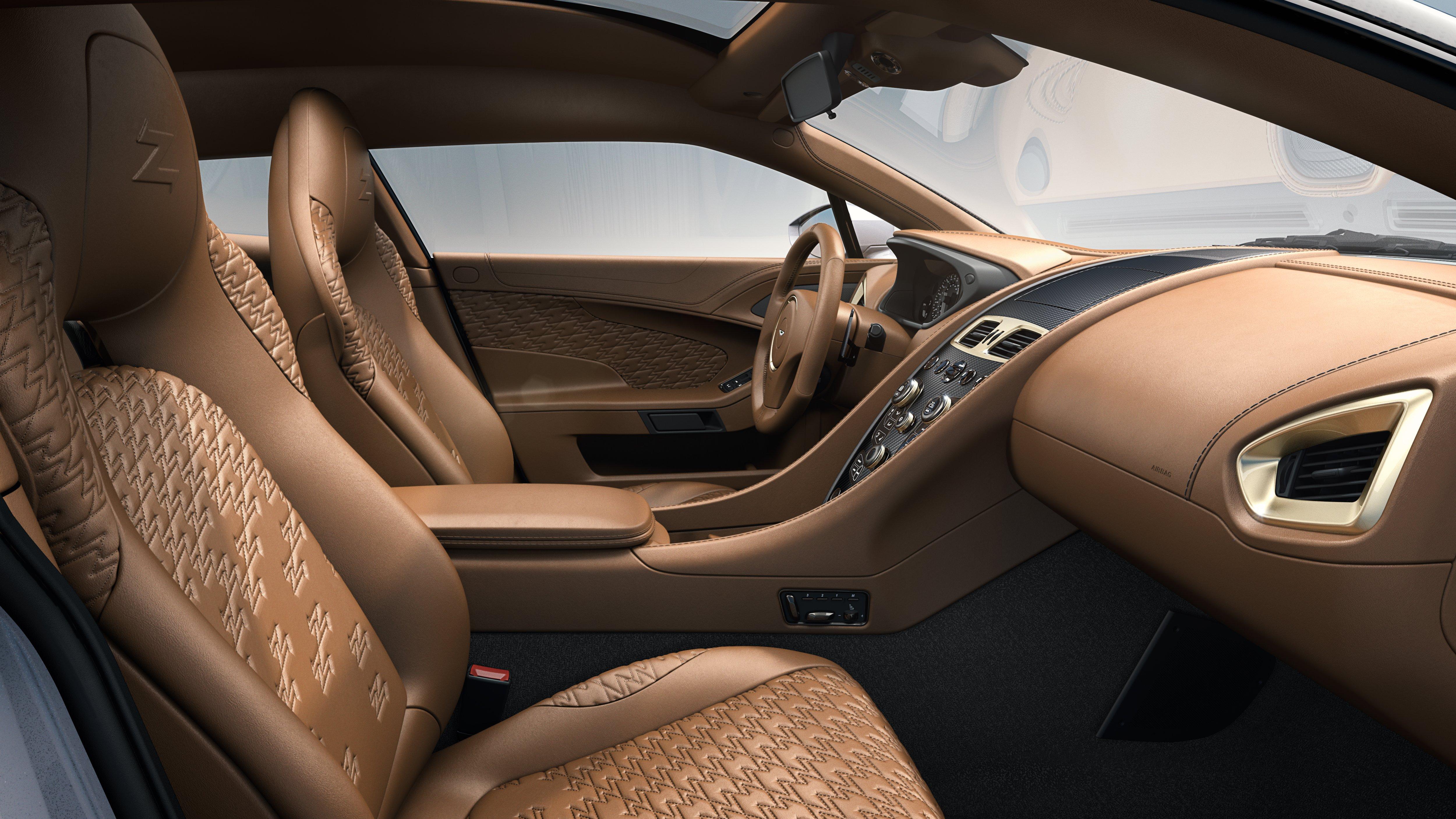 aston martin vanquish zagato shooting brake – new pics show interior