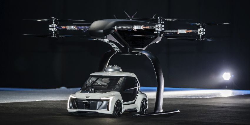Audi, Airbus and Italdesign present flying taxi concept Image #897728