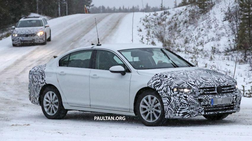 SPYSHOTS: B8 Volkswagen Passat facelift – R-Line? Image #898835