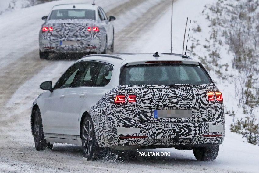 SPYSHOTS: B8 Volkswagen Passat facelift – R-Line? Image #898829