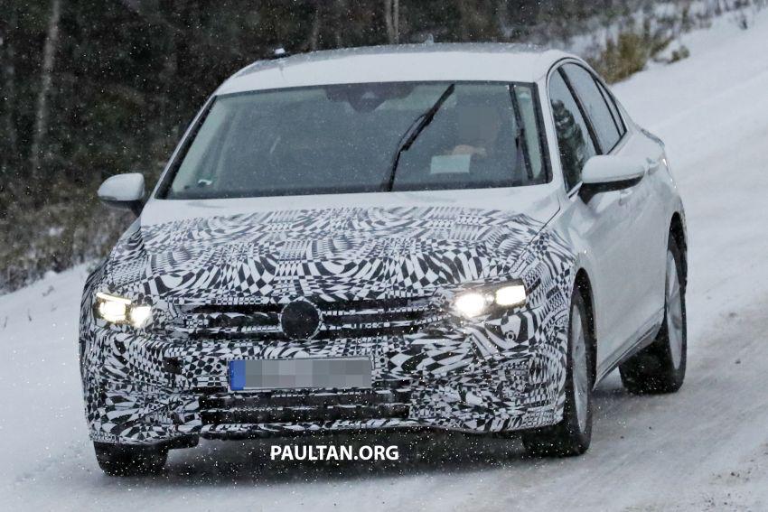 SPYSHOTS: B8 Volkswagen Passat facelift – R-Line? Image #898830