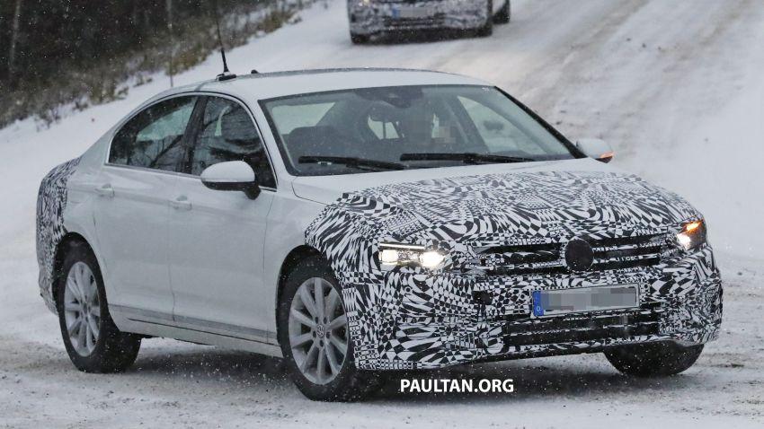 SPYSHOTS: B8 Volkswagen Passat facelift – R-Line? Image #898833
