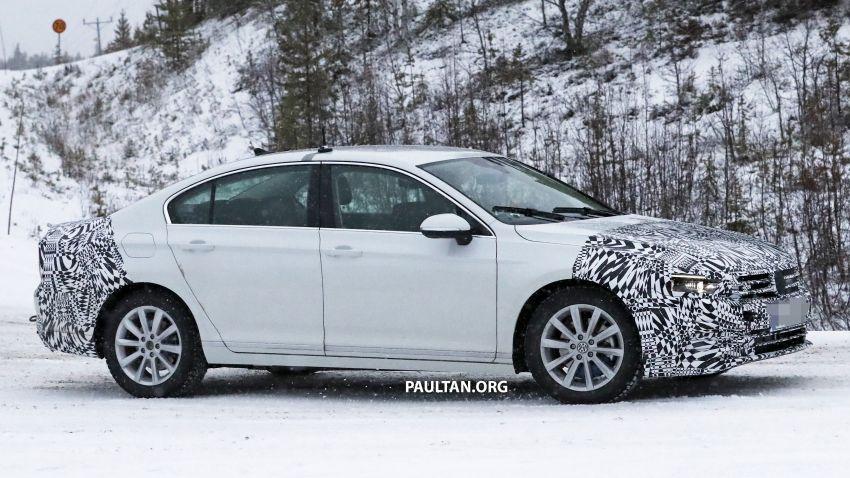 SPYSHOTS: B8 Volkswagen Passat facelift – R-Line? Image #898836