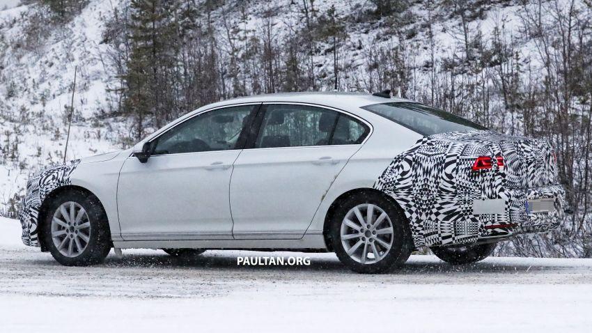 SPYSHOTS: B8 Volkswagen Passat facelift – R-Line? Image #898824