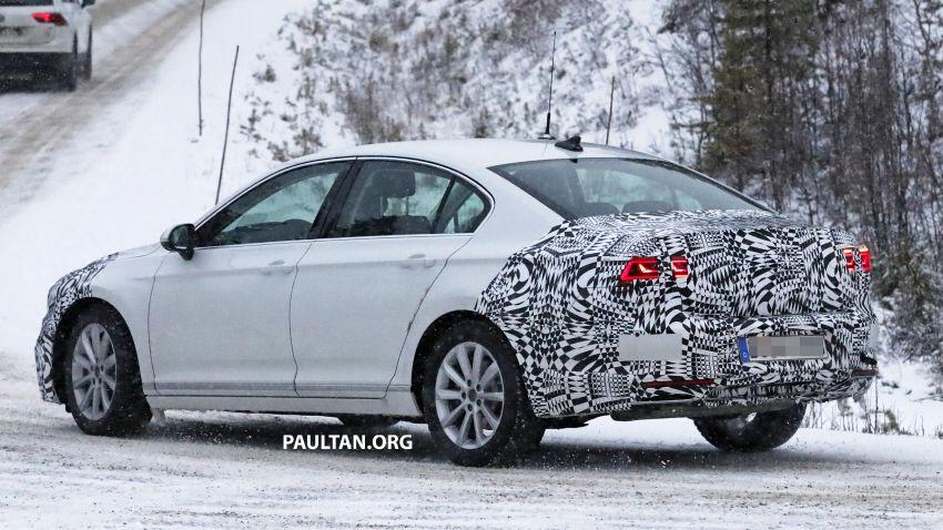 SPYSHOTS: B8 Volkswagen Passat facelift – R-Line? Image #898825