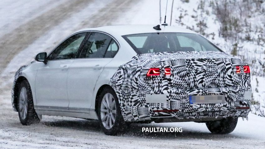 SPYSHOTS: B8 Volkswagen Passat facelift – R-Line? Image #898826