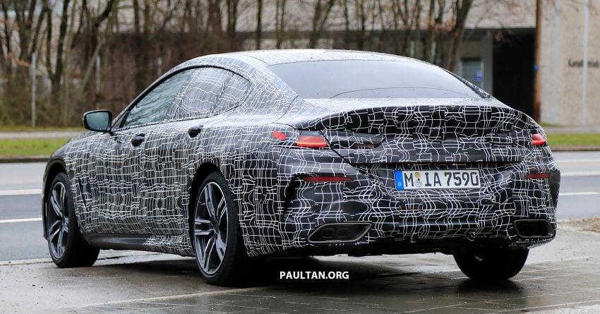 SPIED: BMW 8 Series Gran Coupe drops more camo! Image #904012