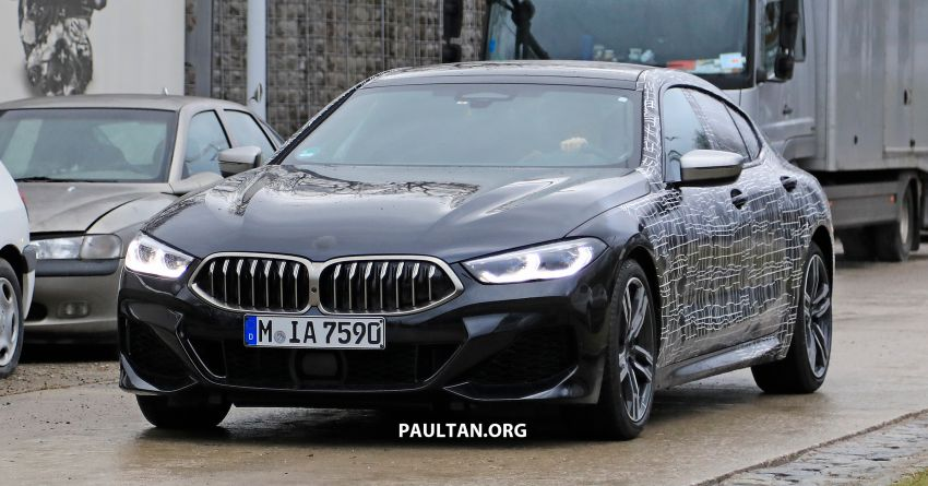SPIED: BMW 8 Series Gran Coupe drops more camo! Image #904004