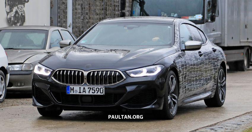 SPIED: BMW 8 Series Gran Coupe drops more camo! Image #904004