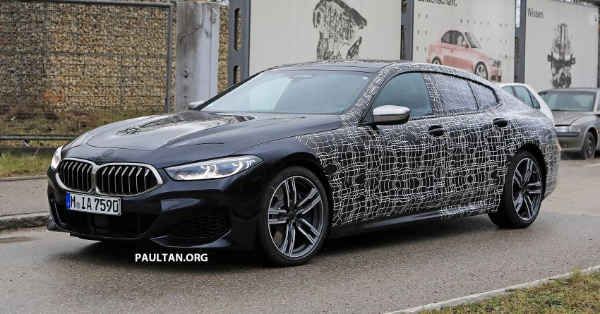 SPIED: BMW 8 Series Gran Coupe drops more camo! Image #904006