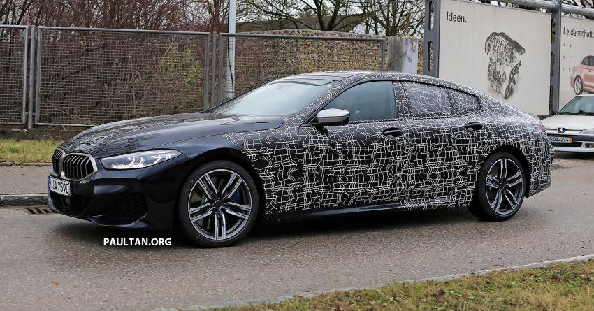 SPIED: BMW 8 Series Gran Coupe drops more camo! Image #904007