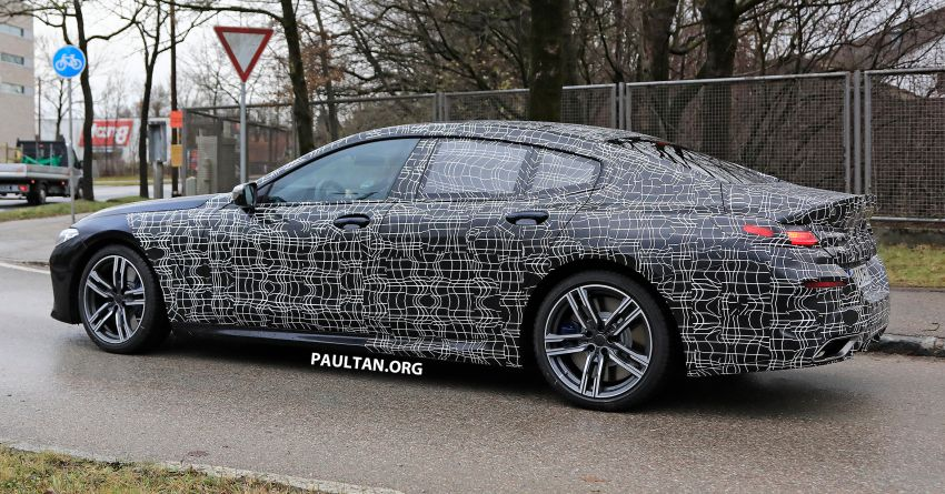 SPIED: BMW 8 Series Gran Coupe drops more camo! Image #904009