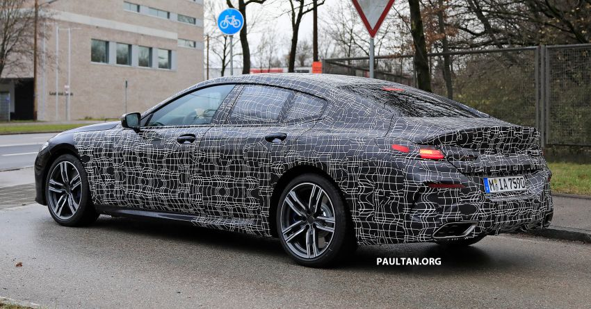 SPIED: BMW 8 Series Gran Coupe drops more camo! Image #904010