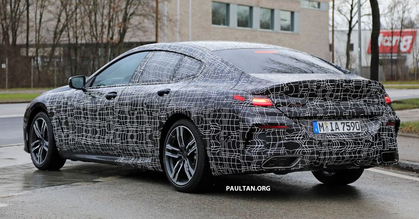 SPIED: BMW 8 Series Gran Coupe drops more camo! Image #904011