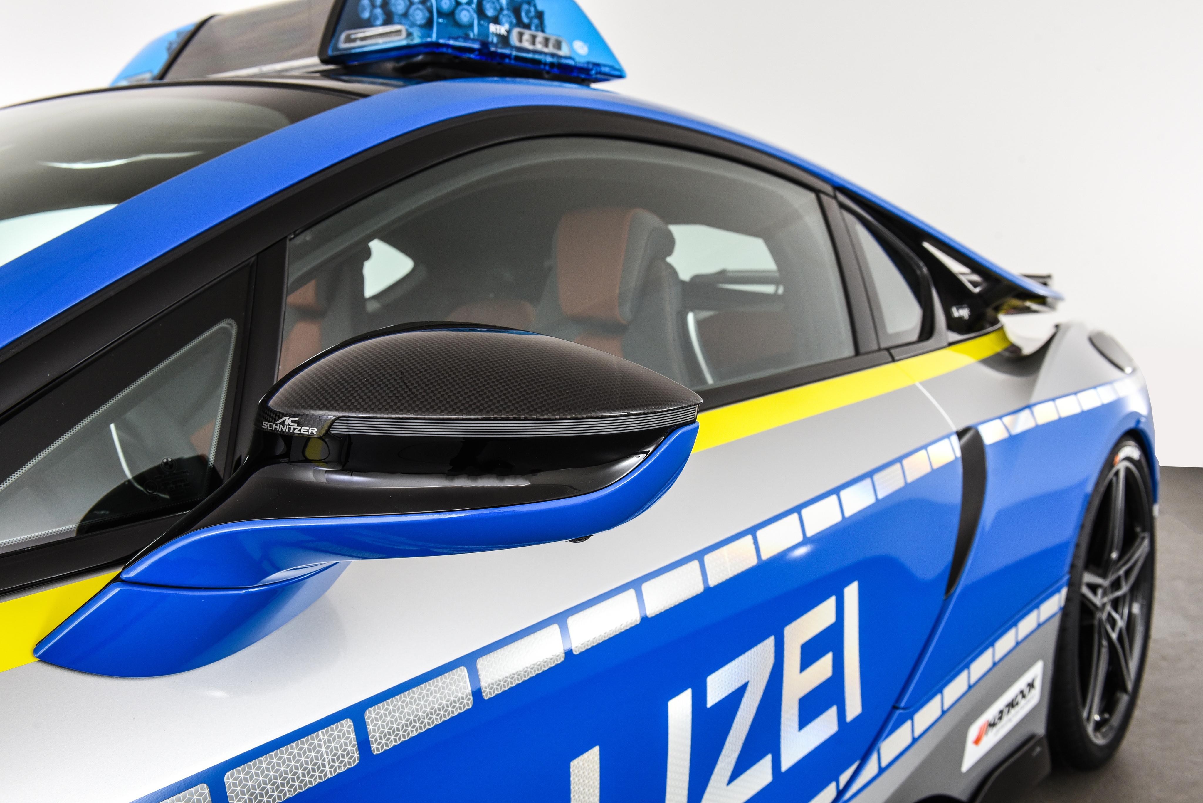 Meet The New Bmw I8 Cop Car Concept By Ac Schnitzer Paul Tan Image