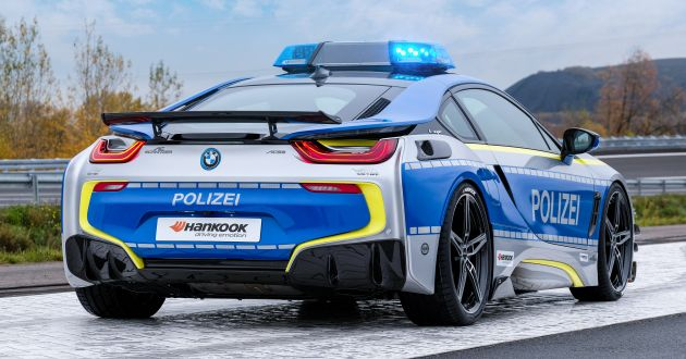 Meet The New Bmw I8 Cop Car Concept By Ac Schnitzer