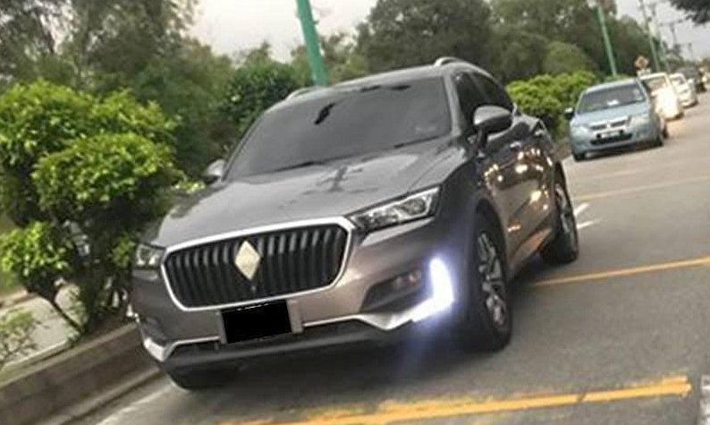 Borgward BX5 doing road trials – local launch in 2019 Image #905116