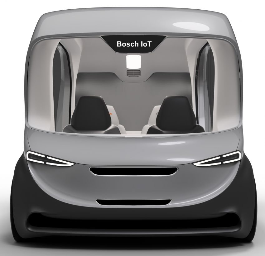 Bosch to debut new concept EV shuttle at CES 2019 Image #901951