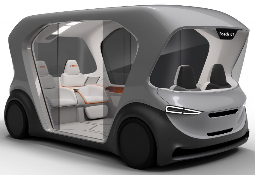 Bosch to debut new concept EV shuttle at CES 2019 Image #901952