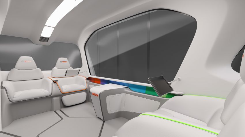 Bosch to debut new concept EV shuttle at CES 2019 Image #901953