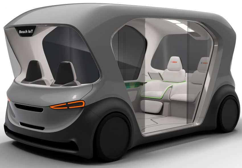 Bosch to debut new concept EV shuttle at CES 2019 Image #901954