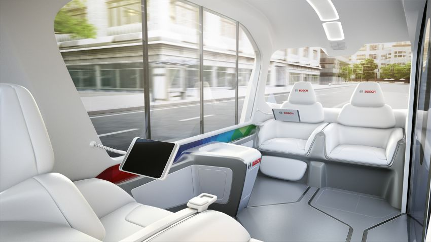 Bosch to debut new concept EV shuttle at CES 2019 Image #901956