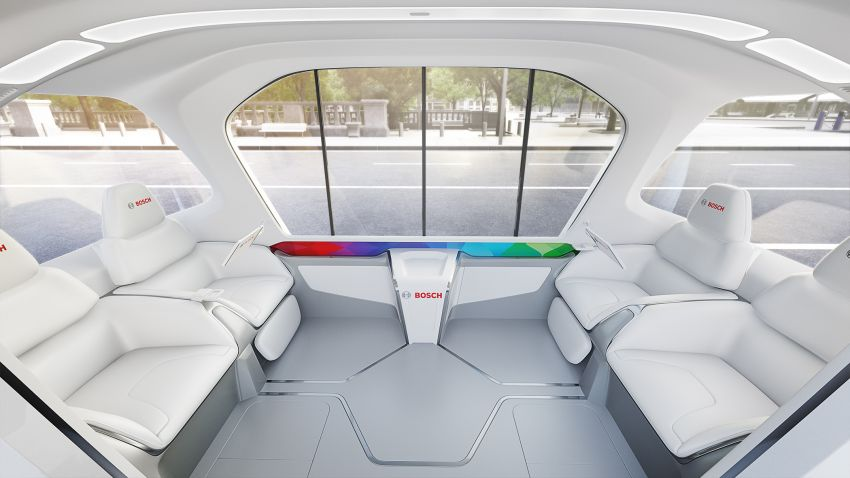 Bosch to debut new concept EV shuttle at CES 2019 Image #901957