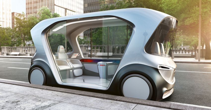 Bosch to debut new concept EV shuttle at CES 2019 Image #901958