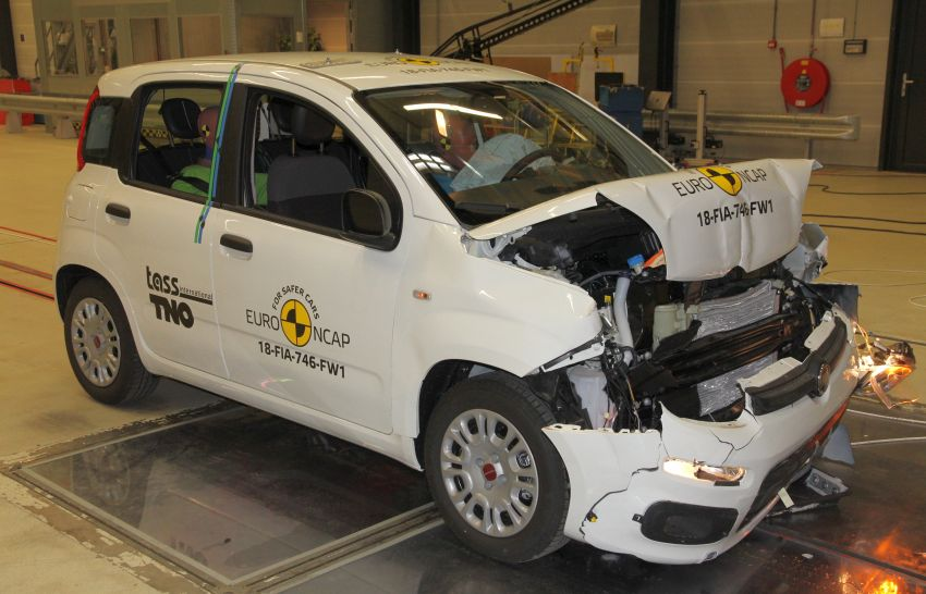 Fiat Panda gets zero-star Euro NCAP safety rating – BMW X5, Jaguar I-Pace and Volvo S60 get five stars Image #899405