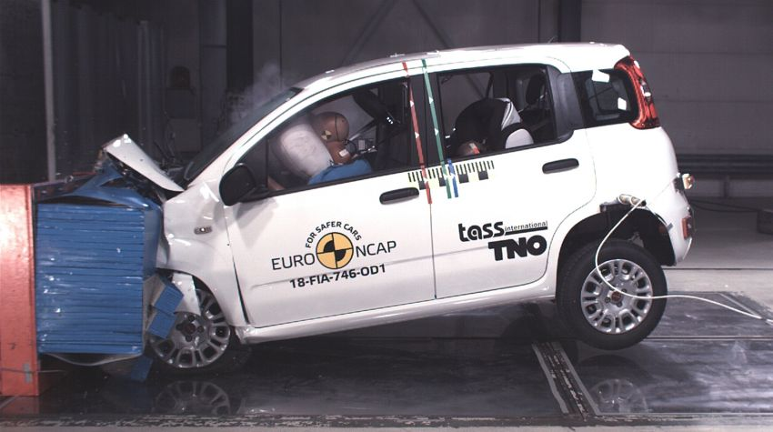 Fiat Panda gets zero-star Euro NCAP safety rating – BMW X5, Jaguar I-Pace and Volvo S60 get five stars Image #899398