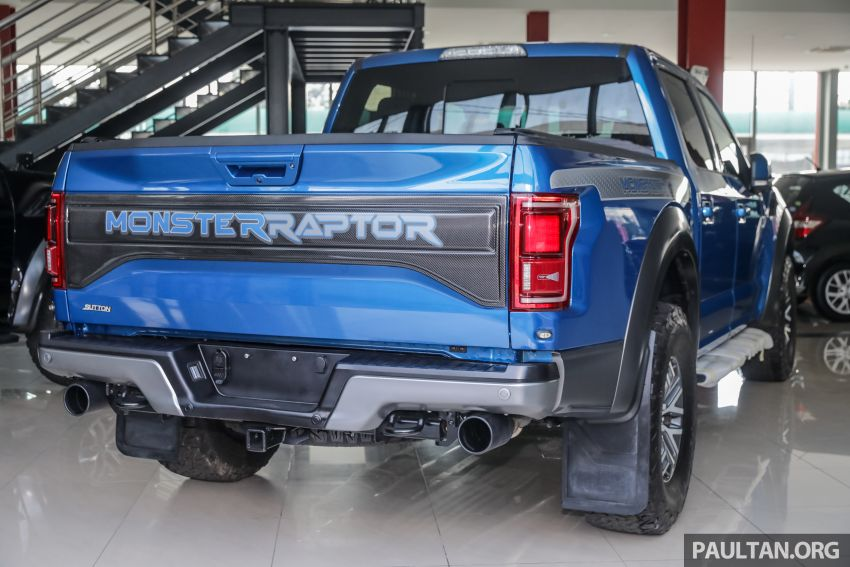 Ford F-150 Raptor now available in Malaysia – CKD right-hand drive, 450 hp 3.5L twin-turbo V6, RM788k Image #905420