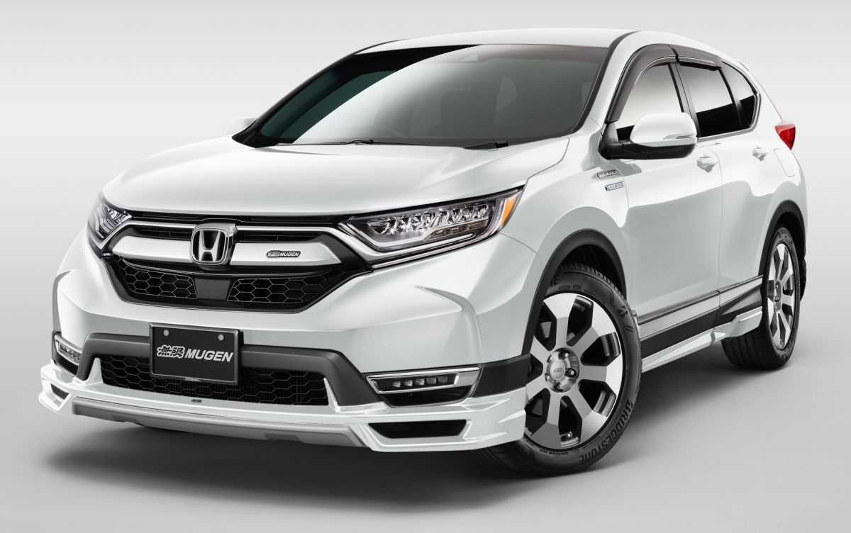 mugen to showcase accessories for honda cr v insight and n van at 2019 tokyo auto salon. Black Bedroom Furniture Sets. Home Design Ideas