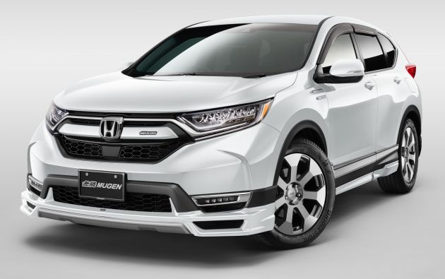Mugen To Showcase Accessories For Honda Cr V Insight And