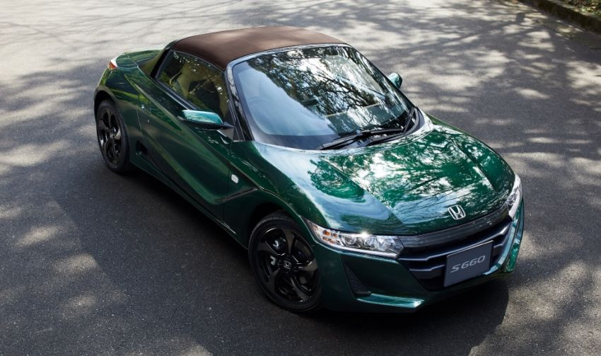 Honda S660 Trad Leather Edition launched in Japan Image #904489