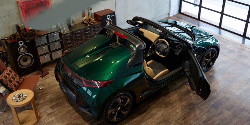Honda S660 Trad Leather Edition launched in Japan Image #904490