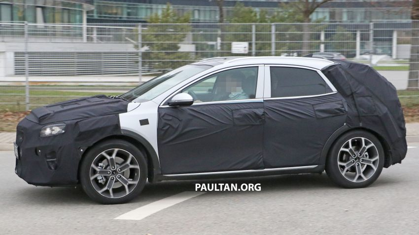 SPYSHOTS: Kia Ceed crossover gets rugged looks Image #898510