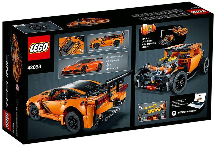 Lego Technic Chevrolet Corvette ZR1 revealed – 579 pieces ...