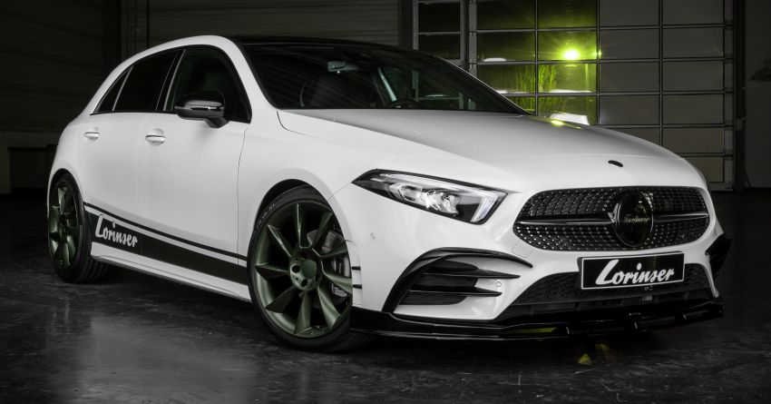 W177 Mercedes-Benz A-Class tuned by Lorinser – A250 Green Series makes 258 hp and 420 Nm Image #898931