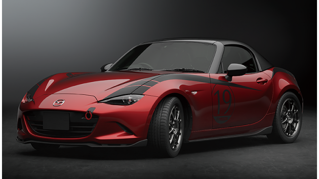 Mazda MX-5 Drop-Head Coupe Concept, Mazda 3, CX-5 and CX-8