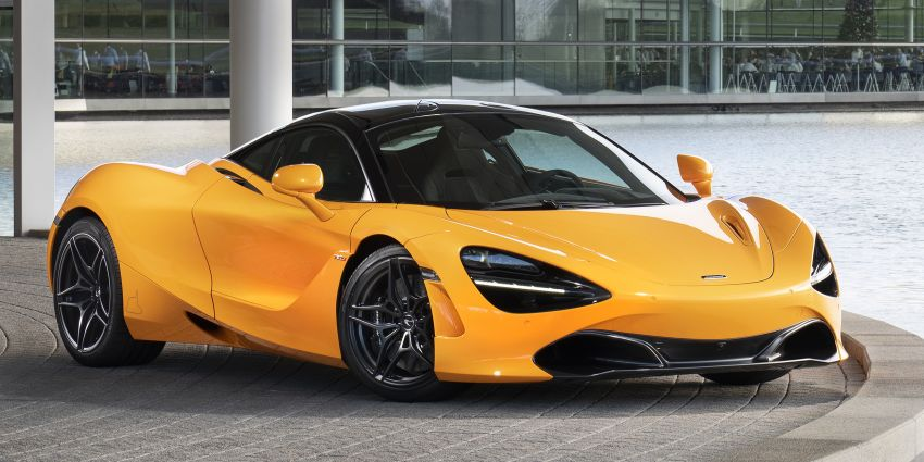 McLaren 720S Spa 68 pays tribute to 1968 F1 GP win Image #905670