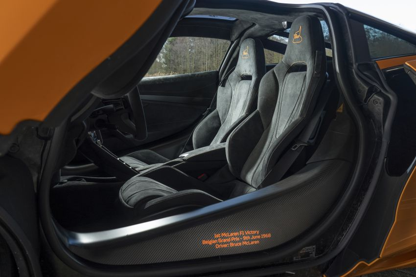 McLaren 720S Spa 68 pays tribute to 1968 F1 GP win Image #905676