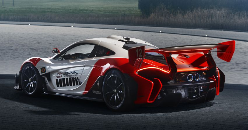 McLaren P1 GTR in Marlboro livery by MSO celebrates 30th anniversary of Ayrton Senna's first title Image #904374