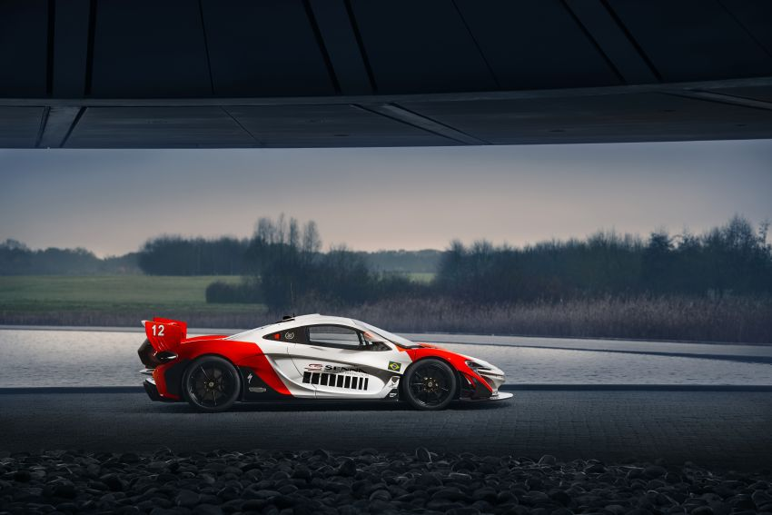 McLaren P1 GTR in Marlboro livery by MSO celebrates 30th anniversary of Ayrton Senna's first title Image #904375