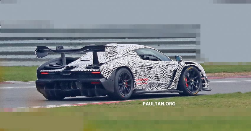 SPIED: McLaren Senna GTR seen for the first time! Image #899583