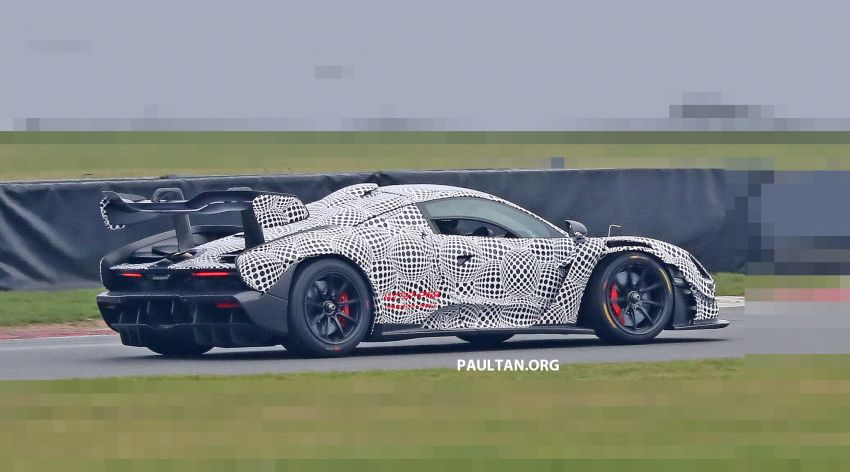 SPIED: McLaren Senna GTR seen for the first time! Image #899584