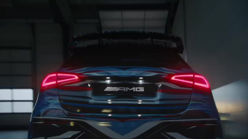 New Mercedes-AMG A45 gets teased with drift mode? Image #904420