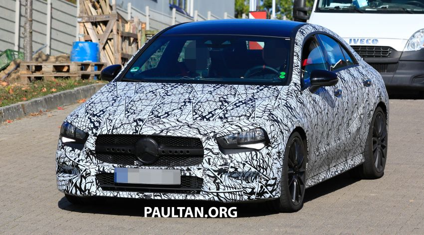 C118 Mercedes-AMG CLA35, CLA45 spotted testing Image #904846